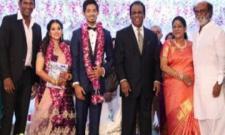 Actor Vishal Krishna's sister Aishwarya gets married
