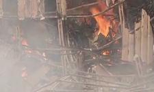 Fire broke out at Mumbai's RK Studio