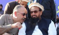 Palestine's Pakistan envoy shares dais with Hafiz Saeed