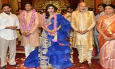 ramoji raos grand daughter wedding