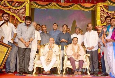 FNCC Team Felicitates K Viswanath and SP Balu