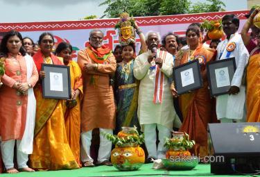 Bonam Telangana pranam Guinness book record