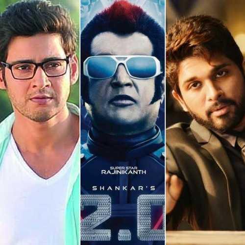 allu arjun and mahesh babu cinema release date postponed because of rajini robo